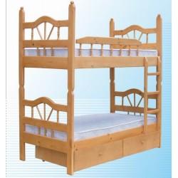 кровать двухъярусная ЛУЧ-2 разборная