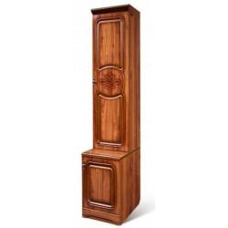 Шкаф для книг 1-дверный Азалия-12 правый