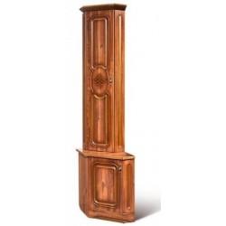Шкаф для книг концевой Азалия-12 левый