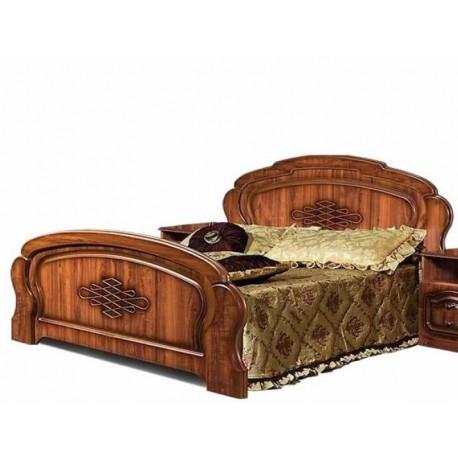 Кровать 1400 с основанием от спальни Нега-9