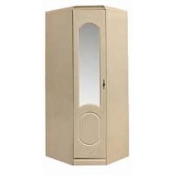 Шкаф угловой с зеркалом от спальни Нега-11