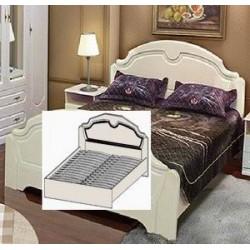Кровать-тахта 1400 с одной спинкой от спальни Нега-11