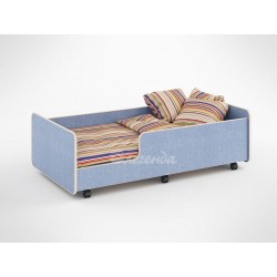 односпальная кровать Легенда-24 цвет лён
