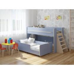 кровать двухъярусная Легенда-23.3 цвет лён