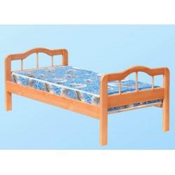 кровать Оля односпальная деревянная