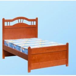 кровать Любимая односпальная, деревянная