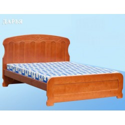 кровать Дарья полуторка из дерева