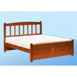 кровать двухспальная АДМИРАЛ деревянная