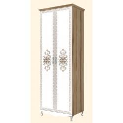 модуль №16 Династия Шкаф для одежды 2-х дверный (без карниза)