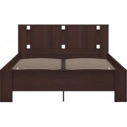 модуль №2 Скандинавия Кровать двуспальная 160 х 200 с латами