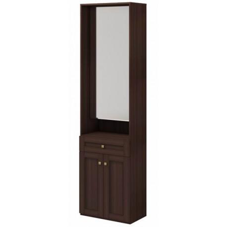 модуль №28 Скандинавия Шкаф комбинированный с зеркалом