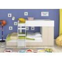 двухъярусная кровать Голден Кидс-2 со шкафом