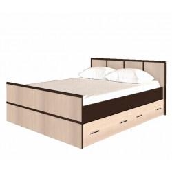 Кровать на 140, с настилом, без матраса Сакура