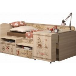 модуль №12 Квест Комплекс универсальный кровать со столом