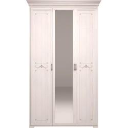 модуль №06 Афродита 3-х дверный шкаф с ЗЕРКАЛОМ (без карниза)