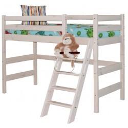 Кровать полувысокая Соня с наклонной лестницей вариант №6
