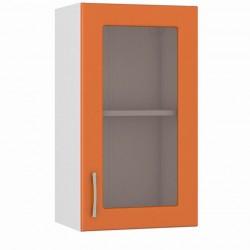 Шкаф навесной 400 витрина Сандра