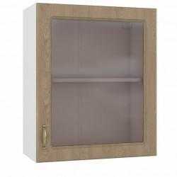 Шкаф навесной 600 витрина Эмили