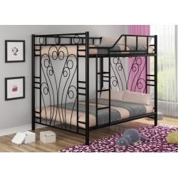 кровать двухъярусная Занзибар вариант сборки лестница слева