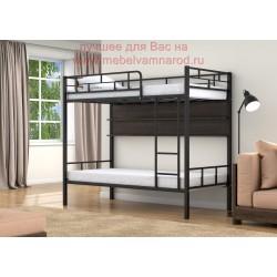 кровать двухъярусная Валенсия с полкой
