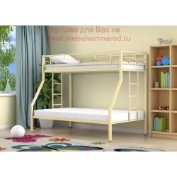 кровать двухъярусная Милан цвет слоновая кость