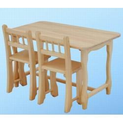детский стол и два детских стульчика №2, комплект