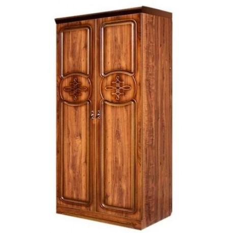 Шкаф для одежды со штангой двухдверный Азалия-12