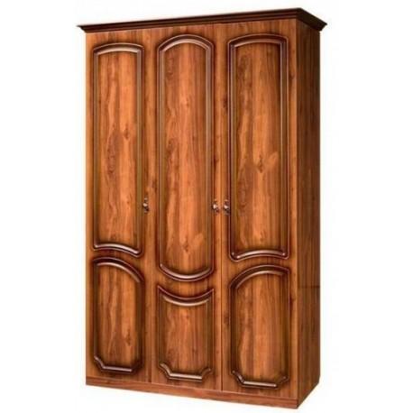 Шкаф 3-х дверный без зеркала от спальни Нега-9