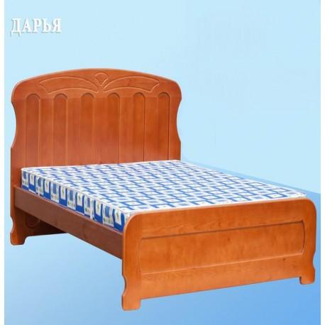 кровать Дарья односпальная из дерева (сосна)
