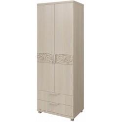 модуль №08 Ирис дуб Бодега Шкаф для белья с ящиками 2-х дверный