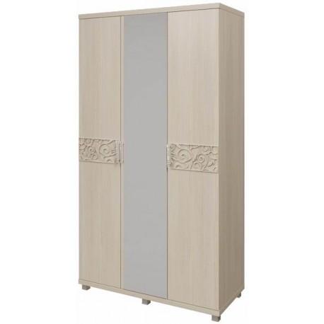 модуль №09 Шкаф для платья и белья 3-х дверный
