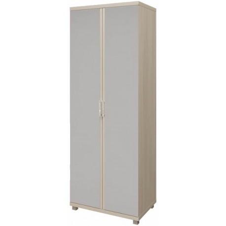 модуль №10 Ирис дуб Бодега Шкаф для одежды с зеркалом 2-х дверный