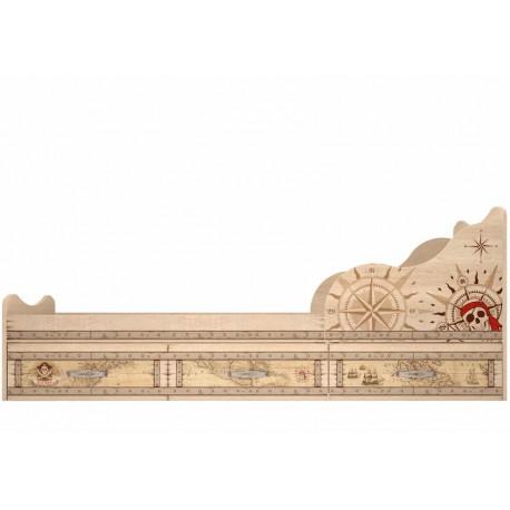 модуль №5 Кровать 900 с ящиками комплектация 1