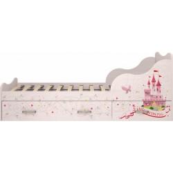 модуль №5 Принцесса Кровать 900 с ящиками комплектация 1
