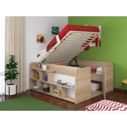 кровать-чердак двуспальная Twist UP