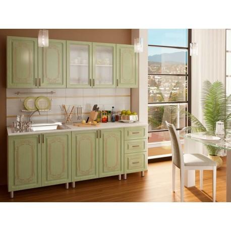 Кухня люкс мдф 2,0 м Прима