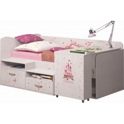 модуль №12 Принцесса Комплекс универсальный кровать со столом