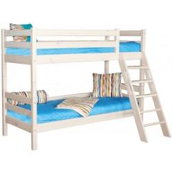 Двухъярусная кровать Соня с наклонной лестницей вариант №10