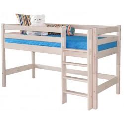 Кровать низкая Соня с прямой лестницей вариант №11