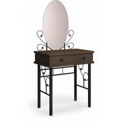 Дамский столик Милая чёрный / шоколад