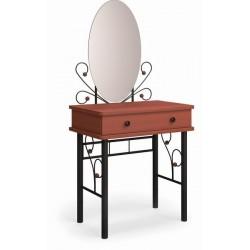 Дамский столик Милая чёрный / махагон