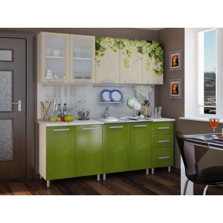 Кухня люкс мдф 2,0 м Лоза