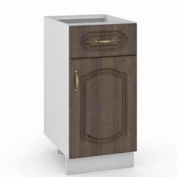 Стол 400 1 ящик 1 дверь Сильвия