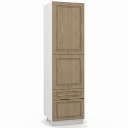 Шкаф-пенал 600 - колонка артикул П600-2Д2Я Эмили