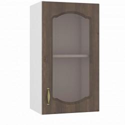 Шкаф навесной 400 витрина Сильвия