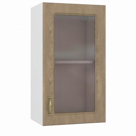 Шкаф навесной 400 витрина Эмили