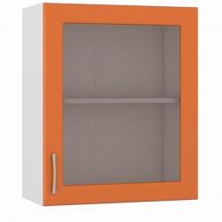 Шкаф навесной 600 витрина Сандра