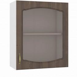 Шкаф навесной 600 витрина Сильвия