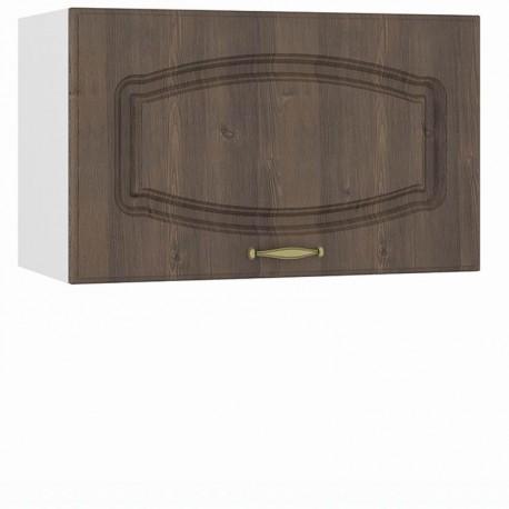 Шкаф навесной 600 горизонтальный (над вытяжкой) Сильвия