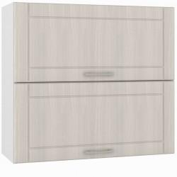 Шкаф навесной 800 горизонтальный 2 двери Катрин